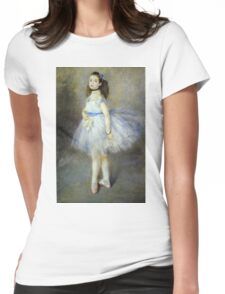 Renoir Auguste - The Dancer 1874 Womens Fitted T-Shirt