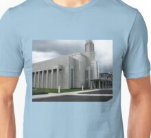 Early Spring Dawn at The Preston Temple Unisex T-Shirt