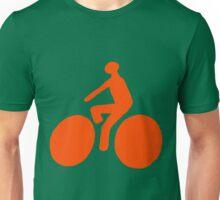 Orange bike Unisex T-Shirt