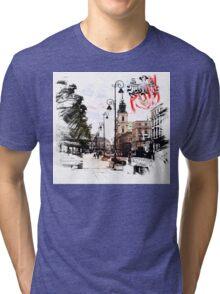 Poland - Warsaw Krakowskie Przedmiescie Tri-blend T-Shirt