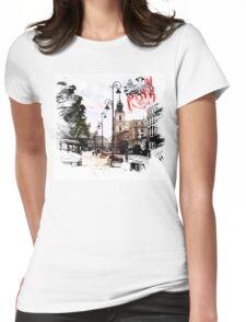 Poland - Warsaw Krakowskie Przedmiescie Womens Fitted T-Shirt