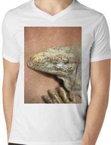 Iguana Mens V-Neck T-Shirt