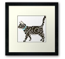 Cat - The Kids' Picture Show - 8-Bit Framed Print