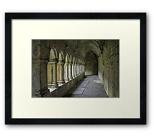 Cloisters at Quin Framed Print