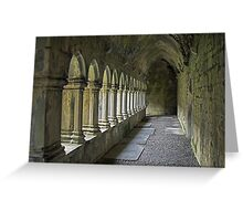 Cloisters at Quin Greeting Card