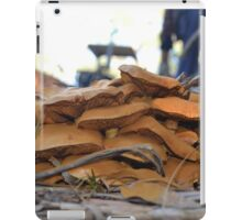 A cluster of mushrooms iPad Case/Skin