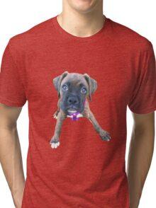 Boxer puppy Tri-blend T-Shirt