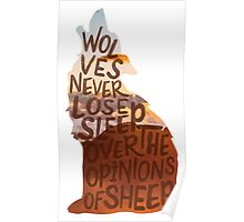 Wolves & Sheep Poster