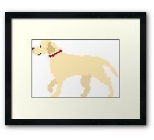 Dog - The Kids' Picture Show - 8-Bit Framed Print