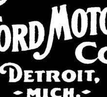 Old Ford Motors Logo Sticker