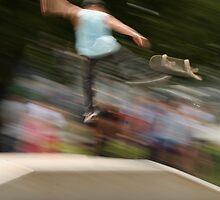 Skateboarding by Kent Nickell