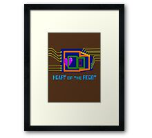 The Heart of the Robot Framed Print