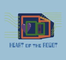 The Heart of the Robot Baby Tee