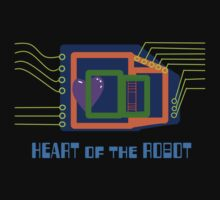 The Heart of the Robot One Piece - Short Sleeve