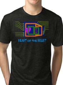 The Heart of the Robot Tri-blend T-Shirt