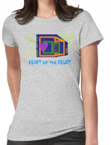 The Heart of the Robot Womens Fitted T-Shirt