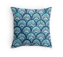 JEWELED SCALES Throw Pillow