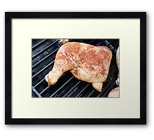 BBQ Chicken Framed Print