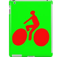 Red bike iPad Case/Skin