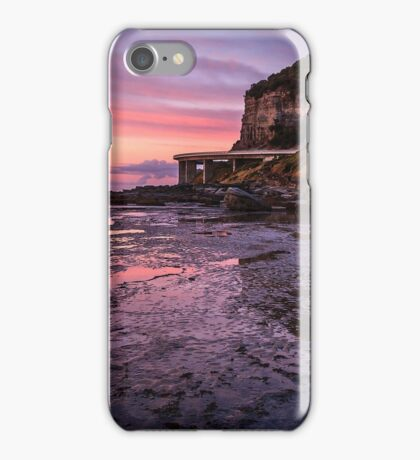 Sea Cliff Road at dawn iPhone Case/Skin
