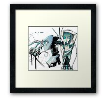 Android dreams Framed Print