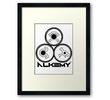 Alkemy Symbol Yin Framed Print