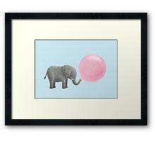 Jumbo Bubble Gum Framed Print