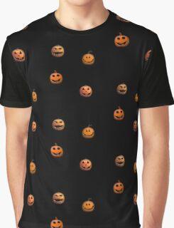 Halloween Pumpkin Jack o lantern Graphic T-Shirt