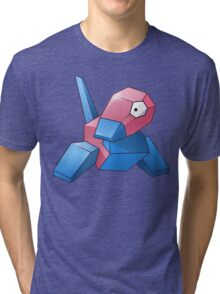 Pokemon - Porygon Tri-blend T-Shirt