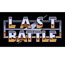 LAST BATTLE - CLASSIC SEGA GENESIS  Photographic Print