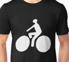 White bike Unisex T-Shirt