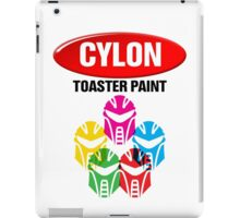 Cylon Toaster Paint iPad Case/Skin