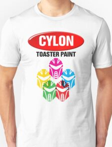 Cylon Toaster Paint T-Shirt