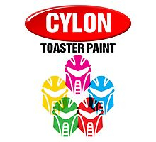 Cylon Toaster Paint by Deadlights