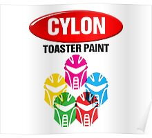Cylon Toaster Paint Poster