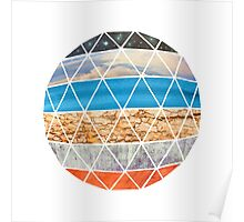Eco Geodesic  Poster