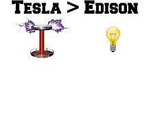 Tesla > Edison by brpbi