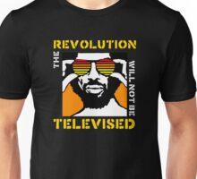 REVOLUTION WILL NOT BE TELEVISED GIL SCOTT HERON (SUMMER) Unisex T-Shirt