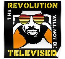 REVOLUTION WILL NOT BE TELEVISED GIL SCOTT HERON (SUMMER) Poster