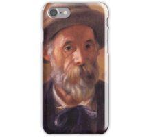 Renoir Auguste - Self Portrait 1899 iPhone Case/Skin
