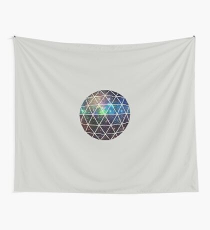 Space Geodesic  Wall Tapestry