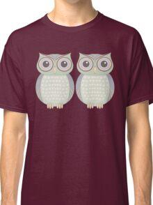 Owl Twins Classic T-Shirt