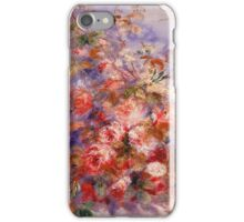Renoir Auguste - Roses By The Window iPhone Case/Skin