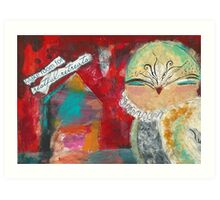 Restful Retreats Art Print