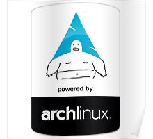 Powered By Arch Linux Poster