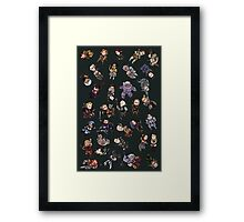 Dragon Age Party members Framed Print