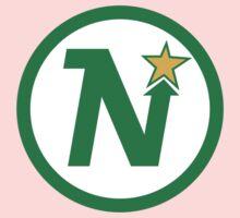 MINNESOTA NORTH STARS HOCKEY RETRO Kids Tee