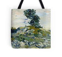 Vincent Van Gogh -  Rocks, 1888  Tote Bag