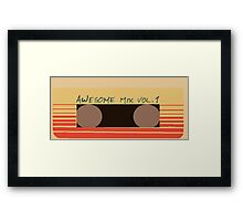 Awesome Mix Vol. 1 Framed Print