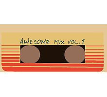 Awesome Mix Vol. 1 Photographic Print